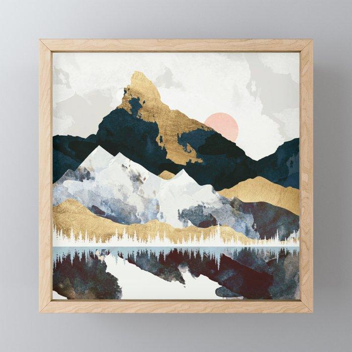 Winters Day Framed Mini Art Print