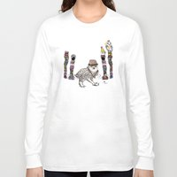 saga Long Sleeve T-shirts featuring Department Store Saga by Olive Primo Design + Illustration
