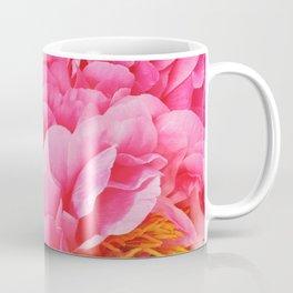 Hot Pink Peony Coffee Mug