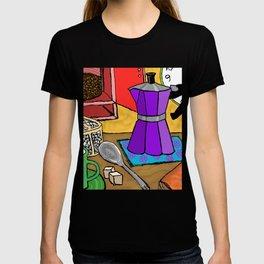 Moka Pot Joy T-shirt