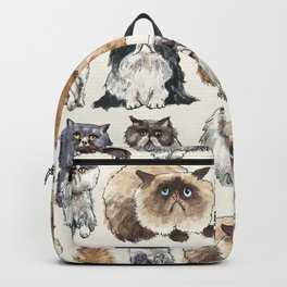 Disappointed Cats Backpack