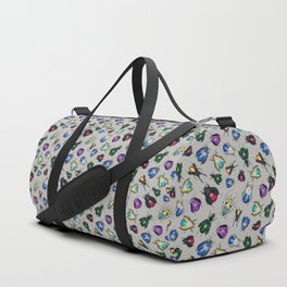 Colorful Mineral Beetles Duffle Bag