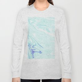 Blue Marble Long Sleeve T-shirt