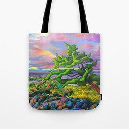 Windswept Juniper by Amanda Martinson Tote Bag