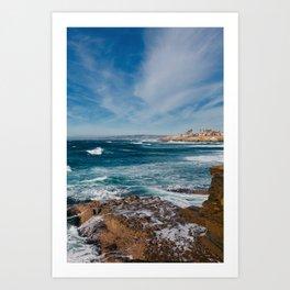 Sunset Cliffs San Diego IV Art Print