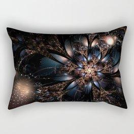 Molly Flower Fractal Manafold Art Rectangular Pillow