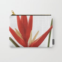 Helicona Flower red Carry-All Pouch