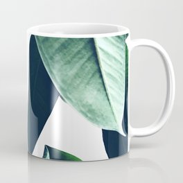 Ficus Elastica #26 #foliage #decor #art #society6 Coffee Mug