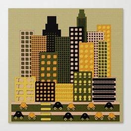 Urbanscapes Canvas Print