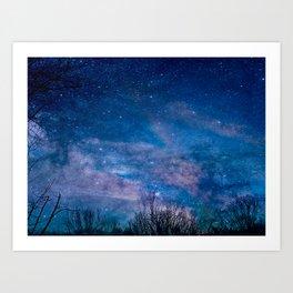 Night Sky Photography Art Print