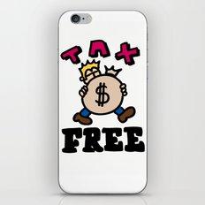 tax free iPhone & iPod Skin