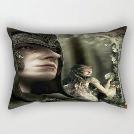 """""""Forbidden Love"""" Rectangular Pillow"""