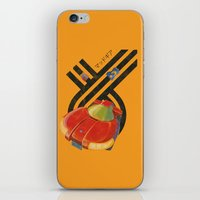 led zeppelin iPhone & iPod Skins featuring Led Storm by Slippytee Clothing