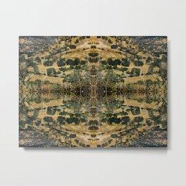 Hills geometry V Metal Print
