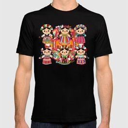 Mexican Dolls T-shirt