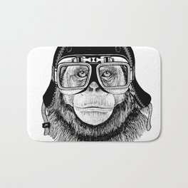 Chimpanzee Speed Rebel Bath Mat