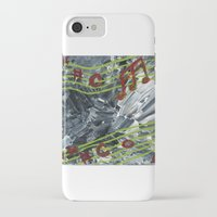 music notes iPhone & iPod Cases featuring Music Notes by Paxelart