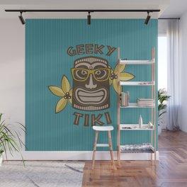 Geeky Tiki Wall Mural