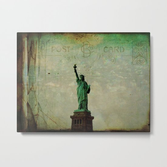 Thinking of  you today NYC! Metal Print