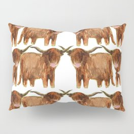 Gathering: Highland Cows Pillow Sham