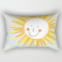 Happy Sun Rectangular Pillow