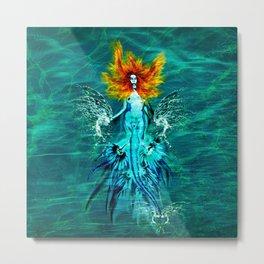 Siren splash Metal Print