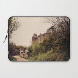 Brancion - French Medieval Chateau Laptop Sleeve