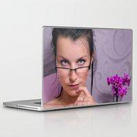 teacher Laptop & iPad Skins featuring Teacher by Karel Stepanek