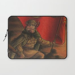 Soldier on Laptop Sleeve