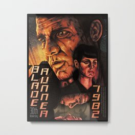 Blade Runner 30th anniversary 2scd Metal Print