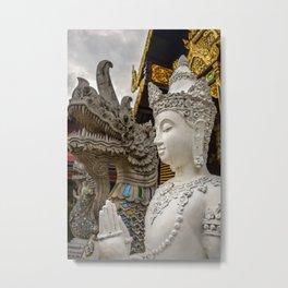 Buddha Dragon in Thailand Metal Print