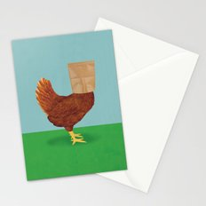 Don't Eat Anything with a Face Stationery Cards