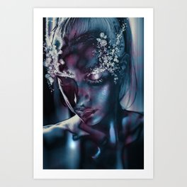 "ALYSSUM ""With Eyes Averted"" Art Print"