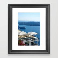 Thira Framed Art Print