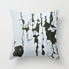 Decomposition 2 Throw Pillow