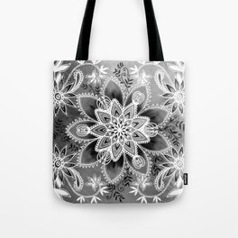 Happiness Grey Tote Bag