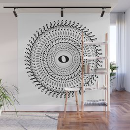 Music mandala no 2 Wall Mural