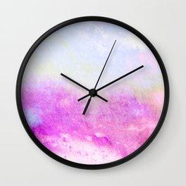 Mixed Feelings Watercolor Art V2 #society6 #decor #style Wall Clock