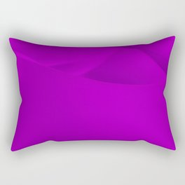 Purple wavy surface Rectangular Pillow
