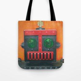 Robert the Robot Tote Bag