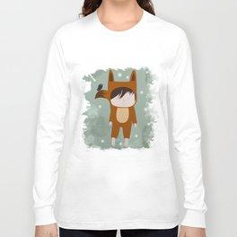 Foxie Boy Long Sleeve T-shirt