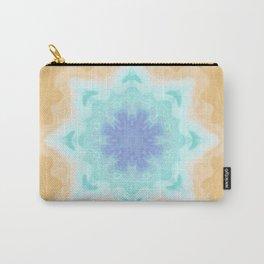 Sandy Portal Fractal Light Source Kaleidoscope Digital Painting Carry-All Pouch