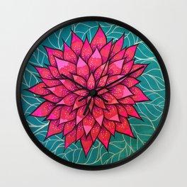 Flower4 Wall Clock