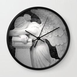 crying angel Wall Clock