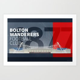 The Macron Stadium Art Print