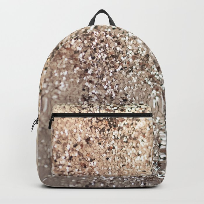 Sparkling GOLD Lady Glitter #1 #decor #art #society6 Backpack