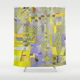 for such a place Shower Curtain