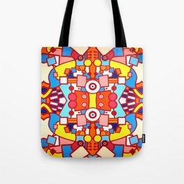 Le Lapin et Les Lunettes Tote Bag