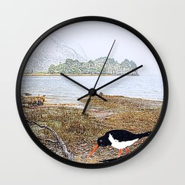 Enjoying the Tao Wall Clock