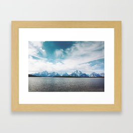 Dreaming of Mountains and Sky Framed Art Print